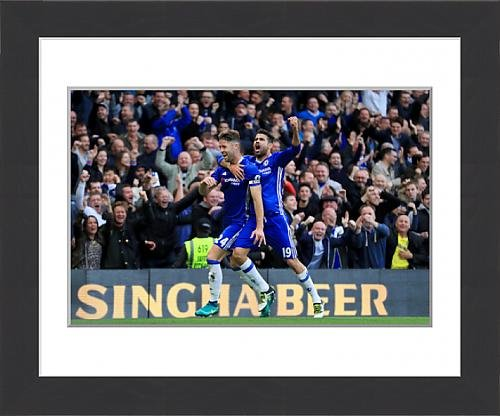 framed-print-of-chelsea-v-manchester-united-premier-league-stamford-bridge