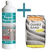 HOTREGA - Fugen- Festiger 1L SET + Quarzsand 10 kg