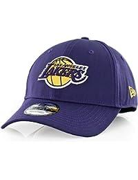 Nueva Era Hombres de la NBA equipo 9 FORTY los angeles lakers producto  oficial equipo color gorra de béisbol beb5730e032