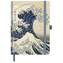Hokusai 2021 - Buchkalender - Taschenkalender - Kunstkalender - 16x22: ArtDiary