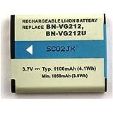 Batterie compatible pour JVC GZ-V500, GZ-V500BEU, GZ-V500BU, GZ-V500BUS, GZ-V515BEU, GZ-V570, GZ-V570-N, GZ-V570-S, GZ-V570-T, GZ-V590, GZ-V590-B, GZ-V590-N, GZ-V590-S, GZ-V590-T, GZ-V700, GZ-VX700, GZ-VX700BU, GZ-VX700BUS, GZ-VX700SEU, GZ-VX705, GZ-VX705TU, GZ-VX715BEK, GZ-VX715SEU, GZ-VX755, GZ-VX770, GZ-VX775, GZ-VX815B, GZ-VX815BEK, GZ-VX815BU