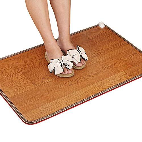 DQM Fußmatte für die Büroheizung, Fußwärmer Elektrisches Heizkissen, für Bett, Bauch, Füße, erwärmt Sich Nicht nur, sondern lindert auch schnell schmerzhafte Muskeln