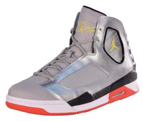 Jordan Nike Flug Luminary Basketball-Schuhe-Schwarz/Hell Citrus-Weiã?-10