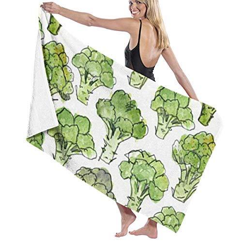 xcvgcxcvasda Badetuch, Soft, Quick Dry, Broccoli Green Hotel & Spa Badetuch, Soft, Quick Dry, 100% Polyester, 32