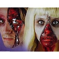 B-Creative Premium ZIPPER FACE FX HALLOWEEN HORROR MAKEUP KIT SCARY ZIP SPECIAL FX EFFECTS BLOOD