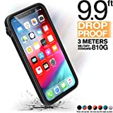 "Catalyst CATDRPHXBLK Funda para teléfono móvil 14,7 cm (5.8"") Bumper Negro - Fundas para teléfonos móviles (Bumper, Apple, iPhone X, 14,7 cm (5.8""), Negro)"