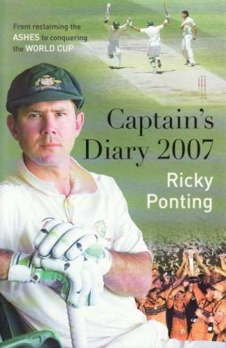 Captain's Diary 2007 por Ricky Ponting