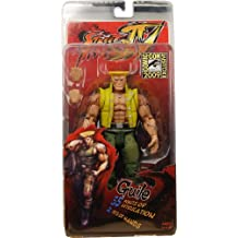 Action Figur Street Fighter 4 Guile (In Charlie Costume) Sdcc Exclusive [Importación Alemana]