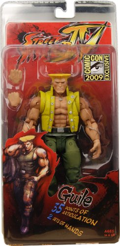 Action Figur Street Fighter 4 Guile (In Charlie Costume) SDCC Exclusive (Street Fighter Charlie)