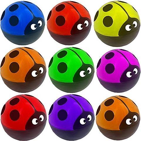 Maman Papa Fille Halloween - German Trendseller® - 12 x balles rebondissantes