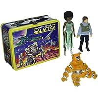 Bif Bang Pow! - Battlestar Galactica pack 3 figurines Retro et valisette Lunchbo
