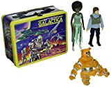 Kampfstern Galactica Retro Actionfiguren mit Lunchbox Set SDCC 2013 Exclusive