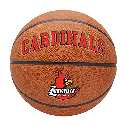 NCAA Louisville Cardinals Triple Threat Full Size Basketball by Rawlings