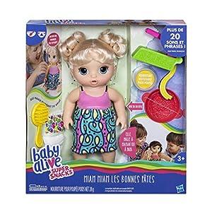 Baby Alive C0963 muñeca - Muñecas, Femenino, Niño/niña, 3 año(s), Sensor de Sonido, Francés