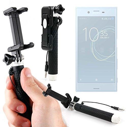 DURAGADGET Palo Selfie (Selfie-Stick) para Smartphone Sony Xperia XZs, XZ Premium, XA1, XA1 Ultra/Denver SDQ-55024L, SDQ-50002G, SBQ-50011G / Crosscall Trekker-X3, Trekker-M1 Core