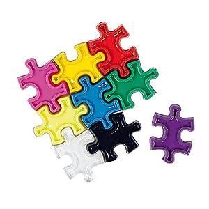 ELFGEN'84 Anti Rutsch Aufkleber Puzzle Pad FW15.16, Colormix