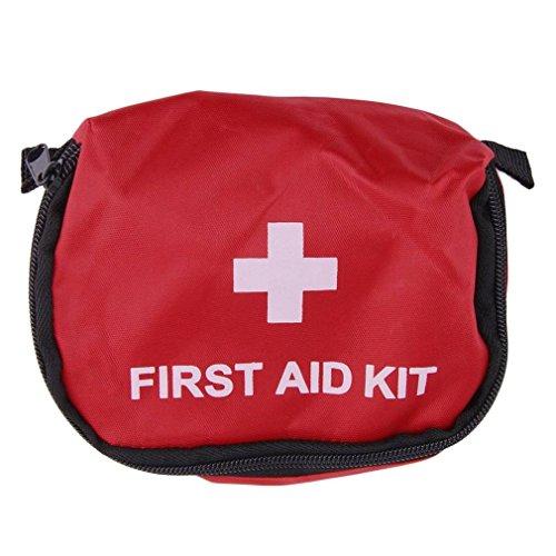 YSCYLY Kampierende Erste-Hilfe-Kit 0.7L Rot Notüberlebensbeutel Verband Medikament Wasserdicht