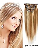 Best Mike & Mary Remy Hair Extensions - Mike Mary Medium Brown/Bleached Blonde #6/613: Mike Review