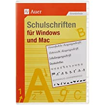 Schulschriften für Windows und Mac - Einzellizenz: 1. bis 4. Klasse