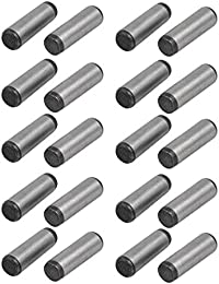 Tradico® Carbon Steel GB117 20mm Length 6mm Small End Diameter Taper Pin 20pcs