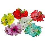 Hawaii Haarklipp Blumen 1 Stück, farblich sortiert