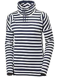 Helly Hansen W Bliss Sweater - Camiseta para mujer, color azul, talla XL