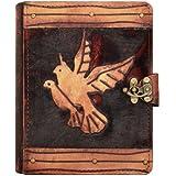 A Little Present Zwei fliegende Vögel auf einem Vintage Leder Schutzhülle für Kindle 4/5/Kindle Paperwhite/Kindle - gut und günstig