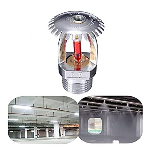 Calli 1/2 Inch 68℃ Upright Fire Sprinkler Head For Fire Extinguishing System Protection
