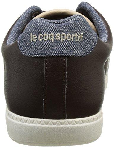 Le Coq Sportif Courtcraft S, Basses Homme Marron (Reglisse)