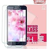 Youer Samsung Galaxy A5 Vetro Temperato, [2 Pezzi] 3D Toccare Compatibile Completa Pellicola protettiva Alta Definizione, Infrangibile,Senza Bolle ,Facile da Installare, 9H durezza Resistente, Ultra-mince Screen Protector per Galaxy A5 - Trasparente