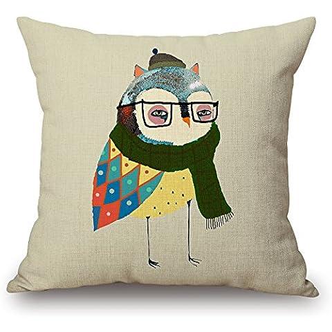 loveloveu fundas de almohada de 20x 20pulgadas/50por 50cm (2lados) buena elección para las niñas, diván, San Valentín, al aire libre, él, dibujo habitación Pájaros