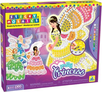 Orb Factory 620872 - Sticky Mosaics Pretty Princess