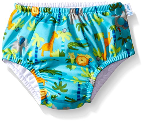 i play. 721150-656-44 Classics ultimative Schwimmwindel mit Druckknöpfen 12-18 Monate, Jungle, aqua
