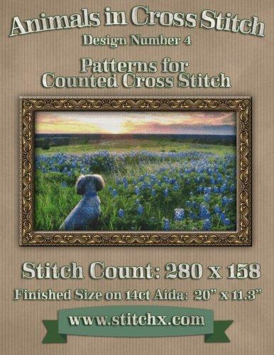 Animals in Cross Stitch: Design Number 4 PDF Books