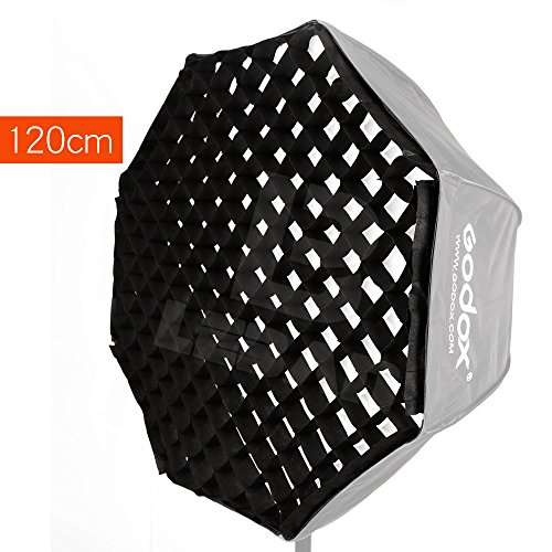 "Godox Portable 120cm / 47"" Only Grid Umbrella Photo Softbox Reflector for Flash Speedlight (120cm Grid Only)"