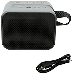 Skullcandy S7PCW-J583 Barricade Portable Bluetooth Speaker (Gray Hot Limel)