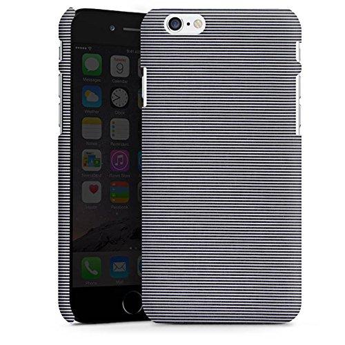 Apple iPhone 5s Housse Étui Protection Coque Motif Motif Look jeans gris Cas Premium mat