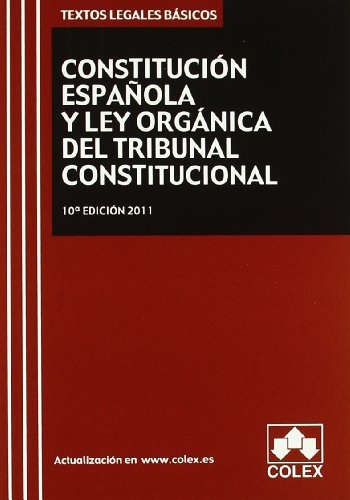 Tlb.constitucion Española Y Lotc. 10ª Ed.