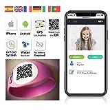 Pulsera con Tecnología QR GPS para Niños y Mayores QR4G.com (Rosa)