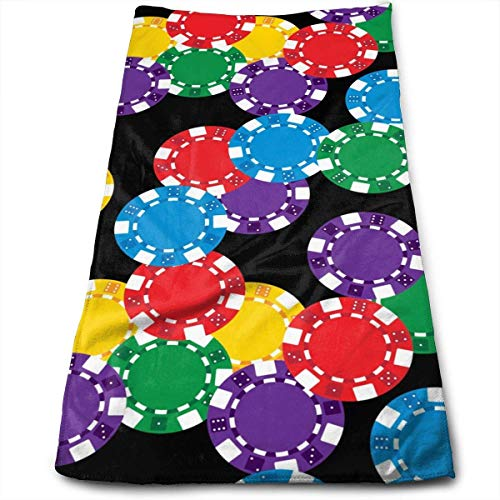 LULUZXOA Poker Chips Pattern Yoga and Out