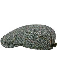 9a282d3578e Wigens Ivy Contemporary Cap Flatcap mit Ohrenklappen aus Harris Tweed