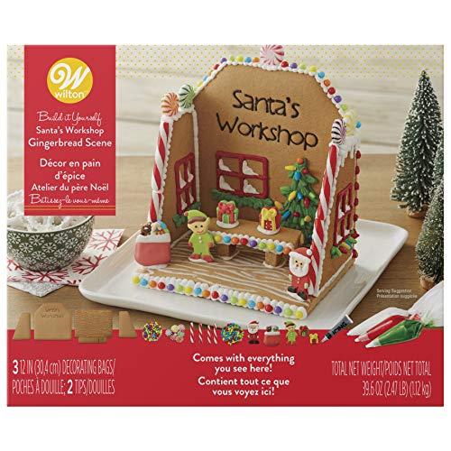 Wilton Build-it-Yourself Gingerbread Scene Decorating Kit -
