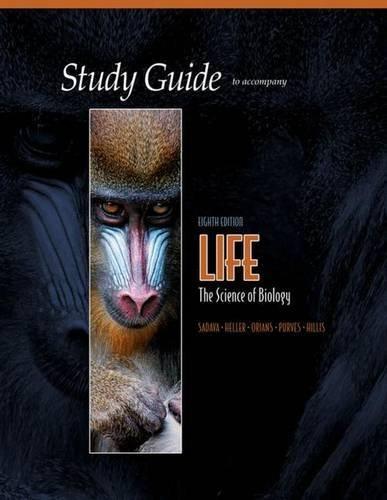Study Guide for Life by David Sadava (2007-02-28)