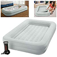 Intex Kidz Travel Cot Bed Inflatable Mattress Air Bed with Pump #66810