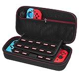 Custodia Nintendo Switch – Younik Case Rigido da Viaggio Versione Aggiornata con più Spazio per 19 Cartucce, Caricabatteria Originale e altri Accessori per Nintendo Switch - Younik - amazon.it