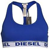 Diesel Damen Miley Tank Top, BH, Bustier, Sport BH, Unterwäsche, XS-L: Farbe: Blau | Größe: 36 (Gr. Small)