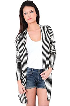 Cardigan Patty Geena Only Blanc Noir S
