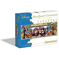 Clementoni Puzzle 39191 - The flower shop -  1000 pezzi Disney Panorama Collection