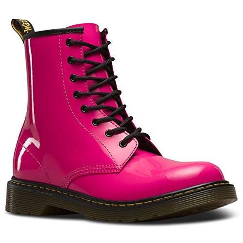 Dr. Martens Unisex-Kinder 1460 Y Klassische Stiefel, Hot Pink 670, 38 EU (Martens Dr. Delaney)