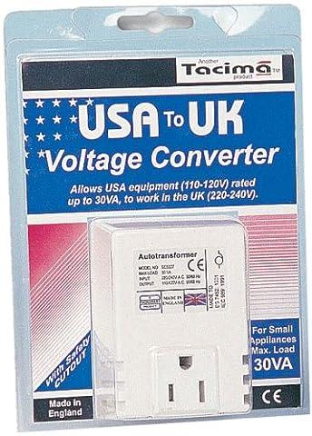 Tacima 240/120V Stepdown Transformer USA to UK 30VA SC5327